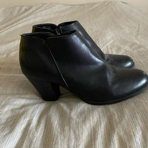 Black Dressy Ankle Boots